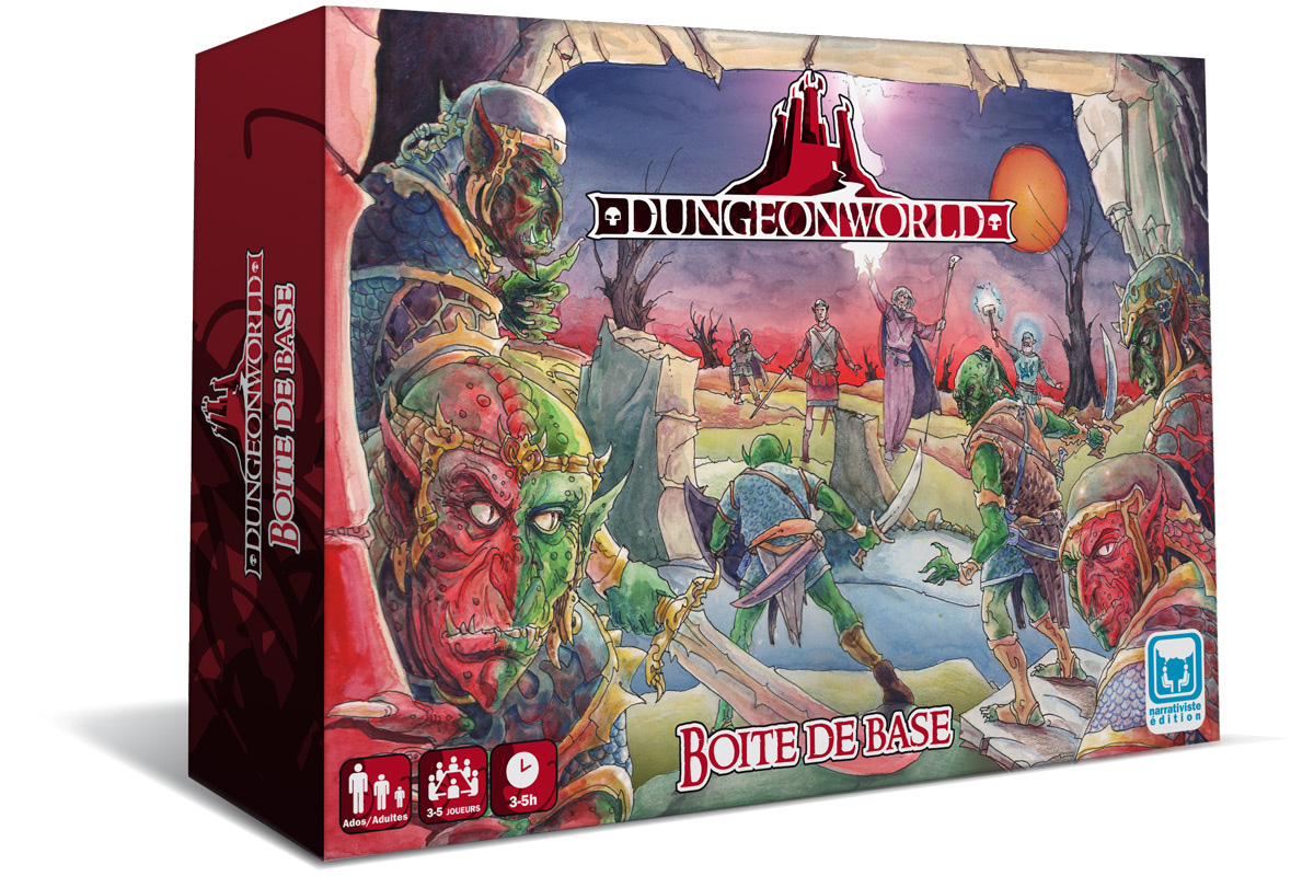 Dungeon world,
