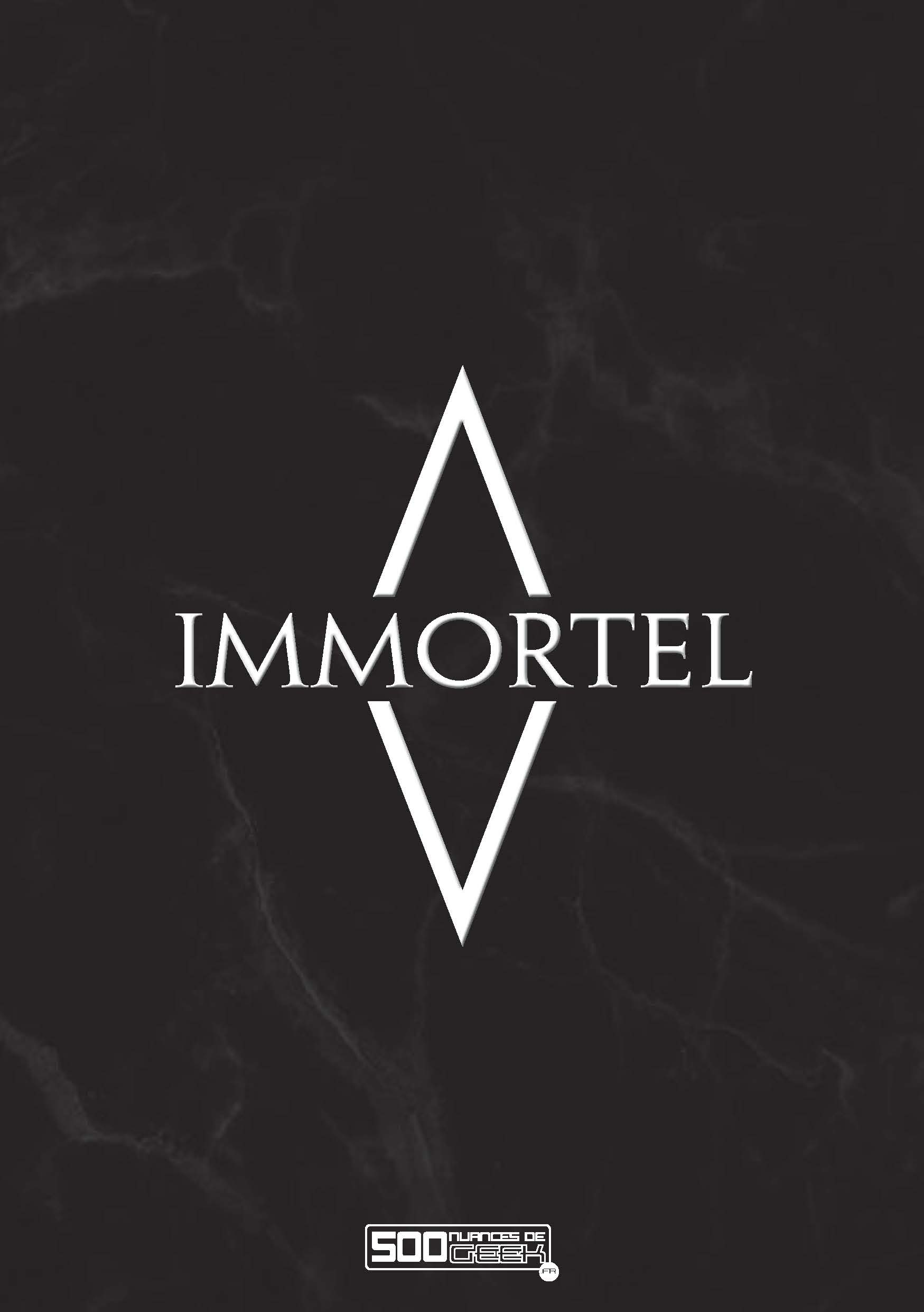 Immortel (undying) (papier)
