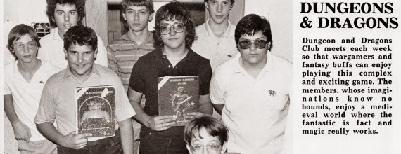 Pingry School Dungeons and Dragons Club, 1984, publié par Greyhawk Grognard