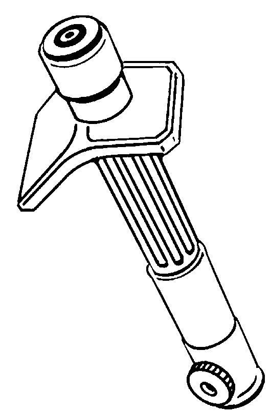 Une barre de fusion, représentée ici éteinte et sans son emballage amplificateur. Dans les mains d'un pilote qualifié, c'est l'arme la plus meurtrière de l'arsenal d'un mobileframe. Contrairement à un projectile ou une arme à faisceau , son utilisation précise minimiseles dangers pour les forces amies, les civils ou les infrastructures. (2Rh, ou 2R d8 & w / amplificateur)