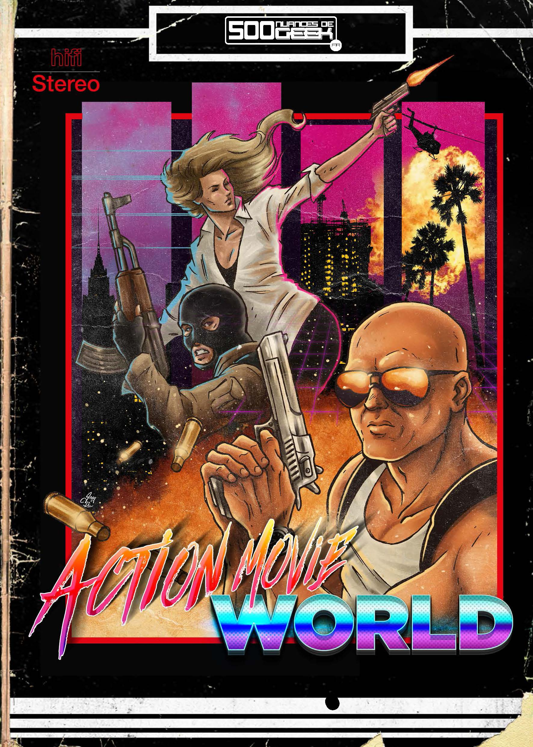 Action Movie World  (papier)