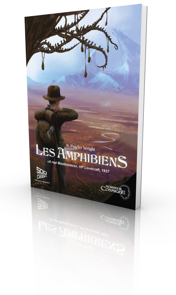 Les Amphibiens, S Fowler Wright, Collection Horreur Cosmique I (version epub)