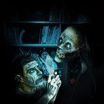 illustration de M. McClinton en cours pour le tome 2 des romans de la Laverie